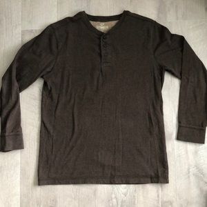 Outdoor life size M long Henley